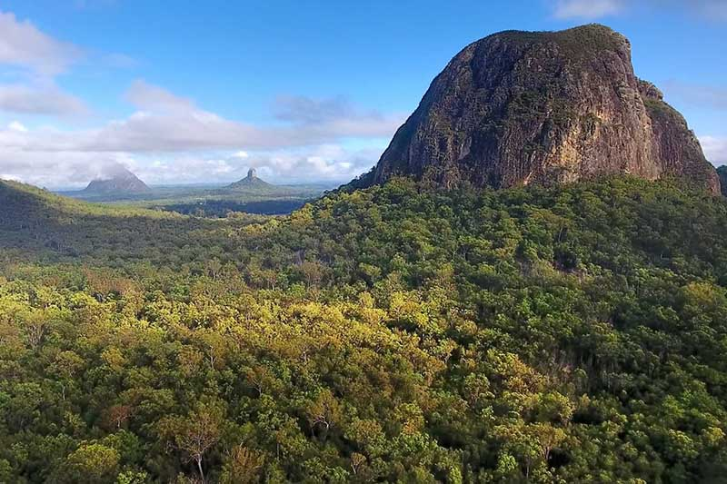 Glass House Mountains Mount Beerwah
